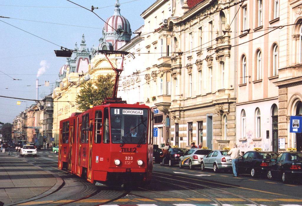 Загреб. Tatra KT4YU №323