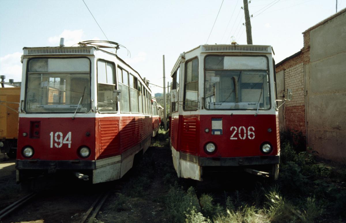 Орск. 71-605 (КТМ-5) №206, 71-605 (КТМ-5) №194