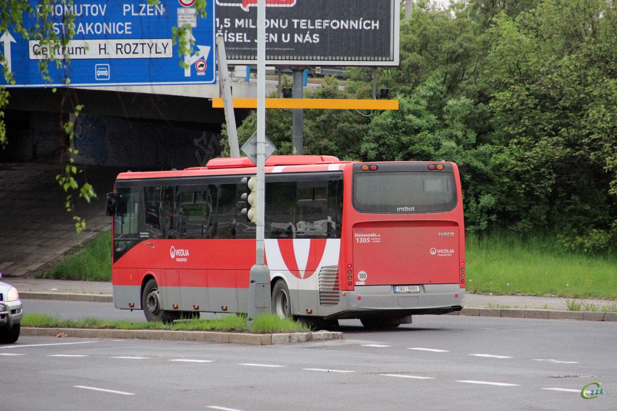 Прага. Irisbus Crossway 12.8M 1AU 5880