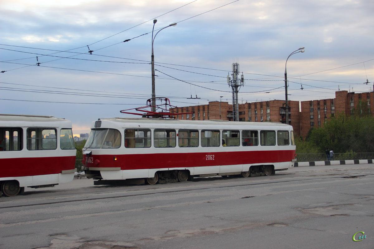 Самара. Tatra T3 (двухдверная) №2062