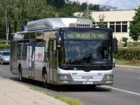 Вильнюс. MAN A21 Lion's City NL273 CNG GND 513