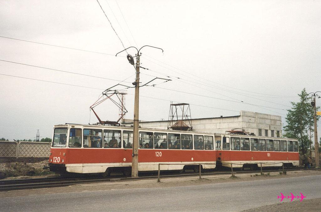 Новокузнецк. 71-605 (КТМ-5) №120, 71-605 (КТМ-5) №101