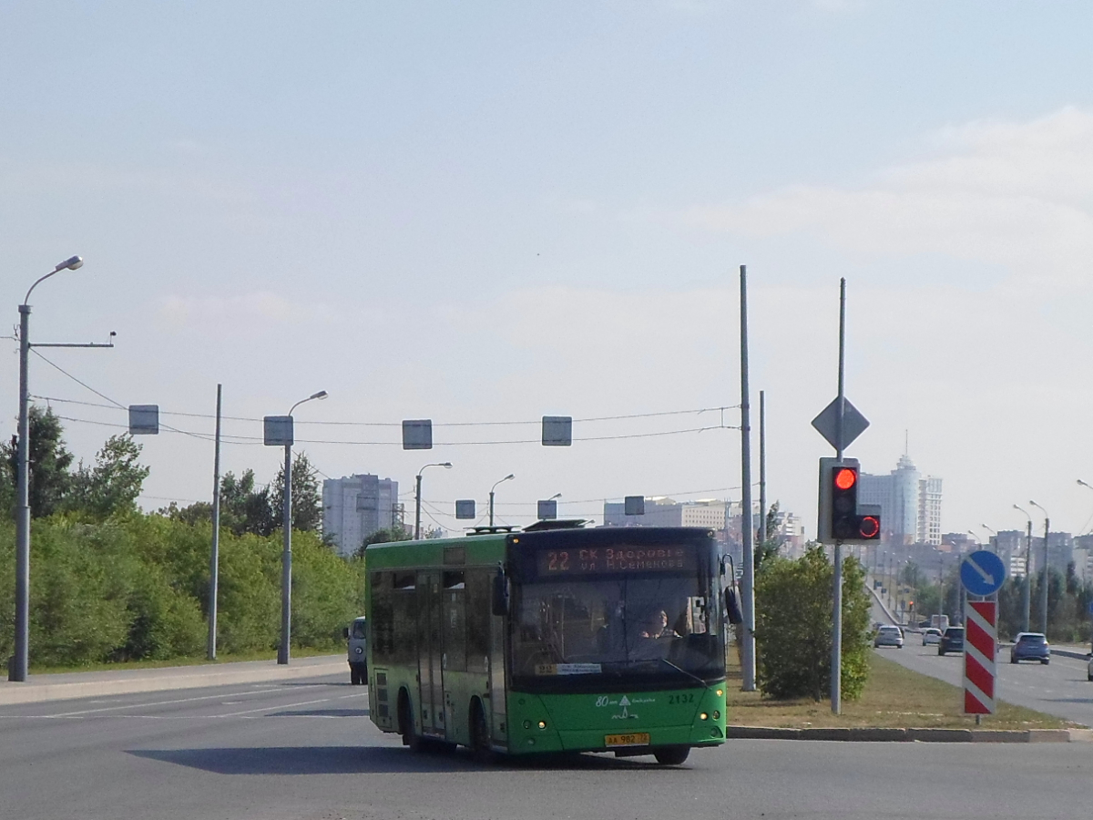 Тюмень. МАЗ-206.085 аа982