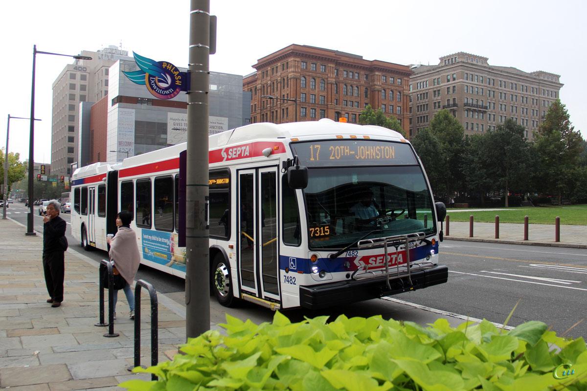 Филадельфия. Novabus LFS Artic MT45965