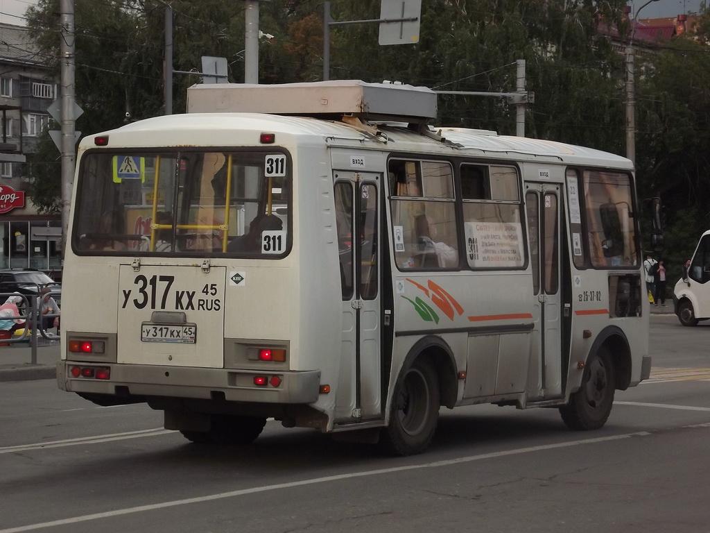 Курган. ПАЗ-32054 у317кх