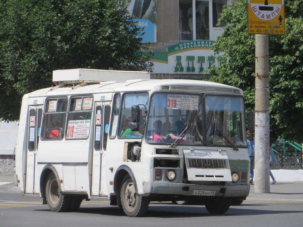 Курган. ПАЗ-32054 а028кн