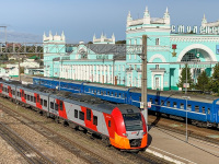 Смоленск. ЭС1-022 Ласточка