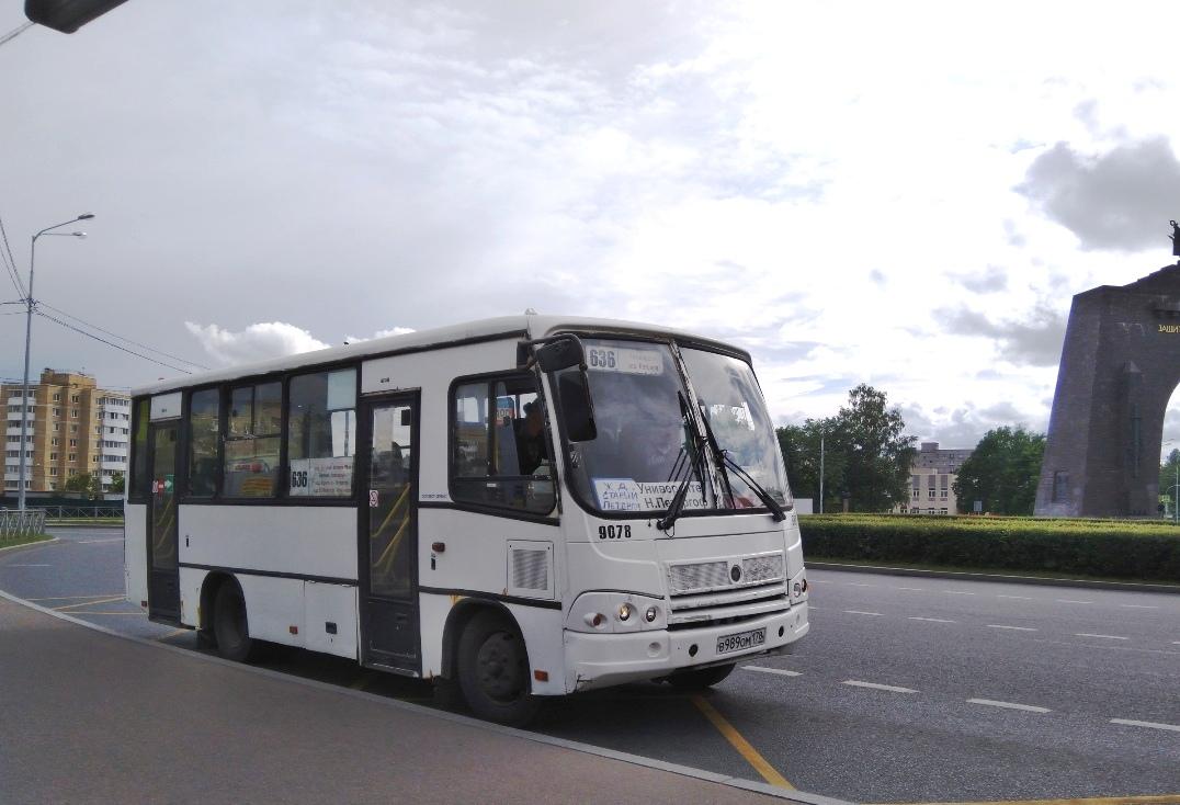 Санкт-Петербург. ПАЗ-320402-05 в989ом