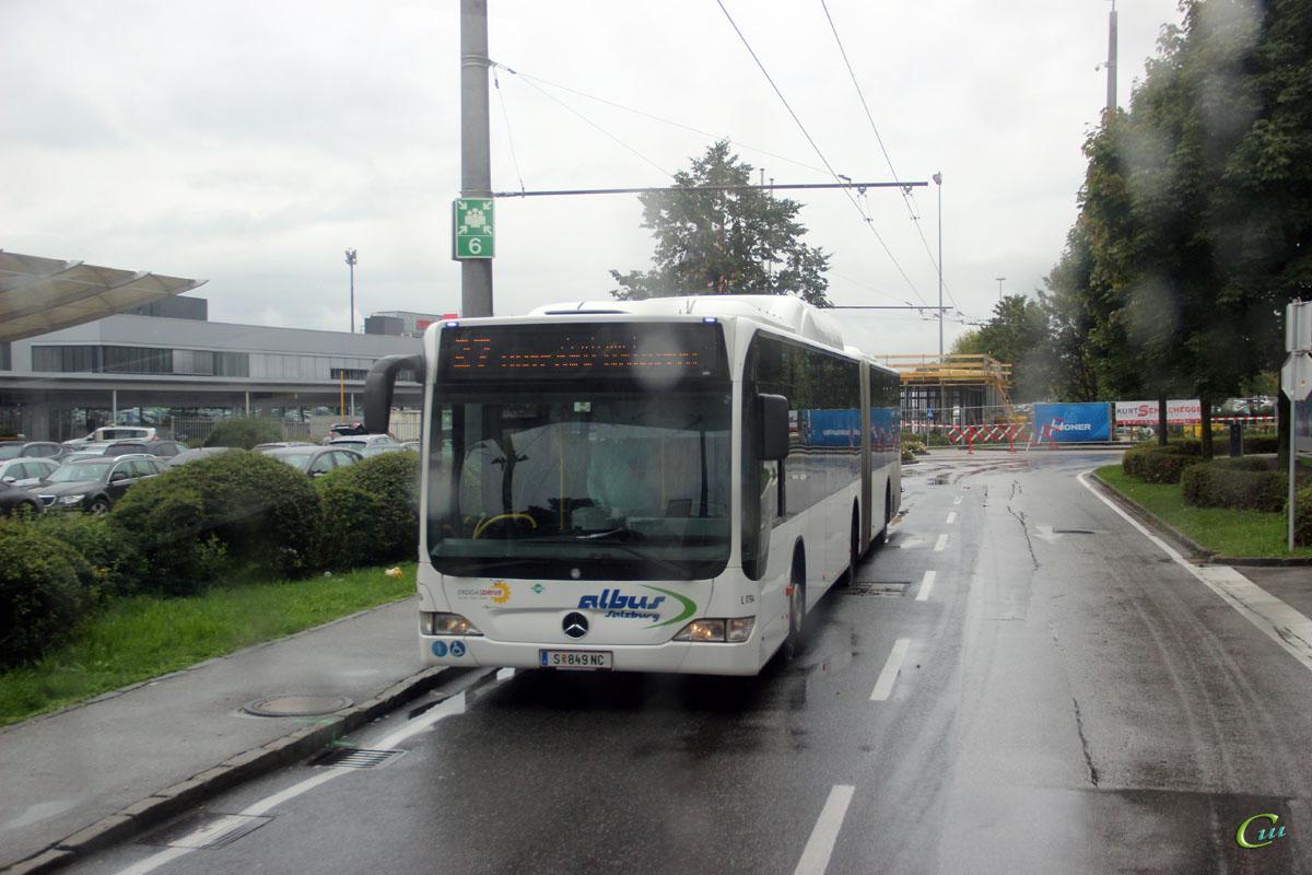 Зальцбург. Mercedes-Benz O530 Citaro G CNG S 849 NC