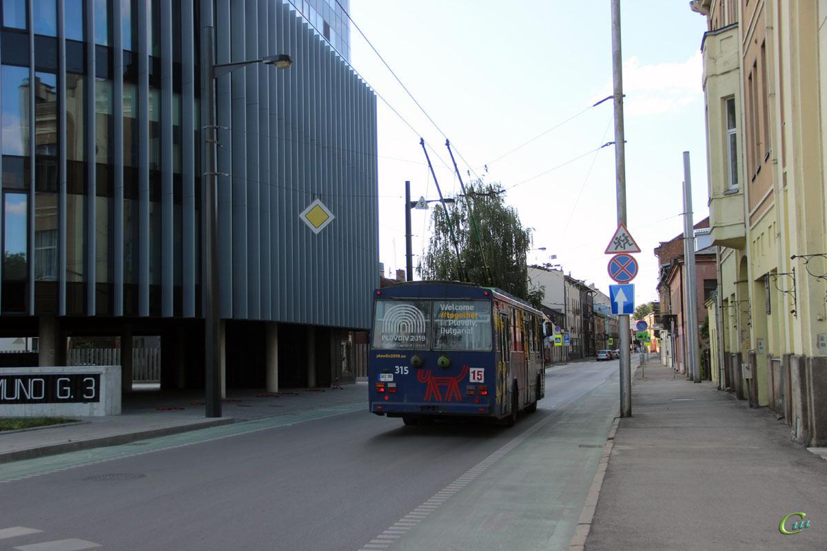 Каунас. Škoda 14Tr89/6 №315