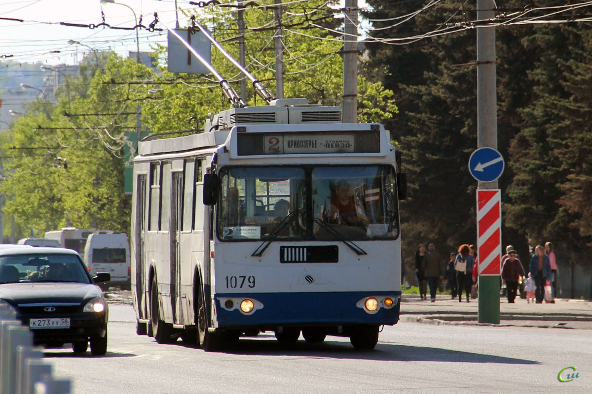 Пенза. ЗиУ-682Г-017 (ЗиУ-682Г0Н) №1079