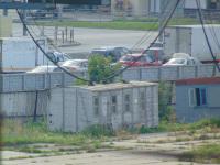 Челябинск. Кузов деревянного крытого вагона