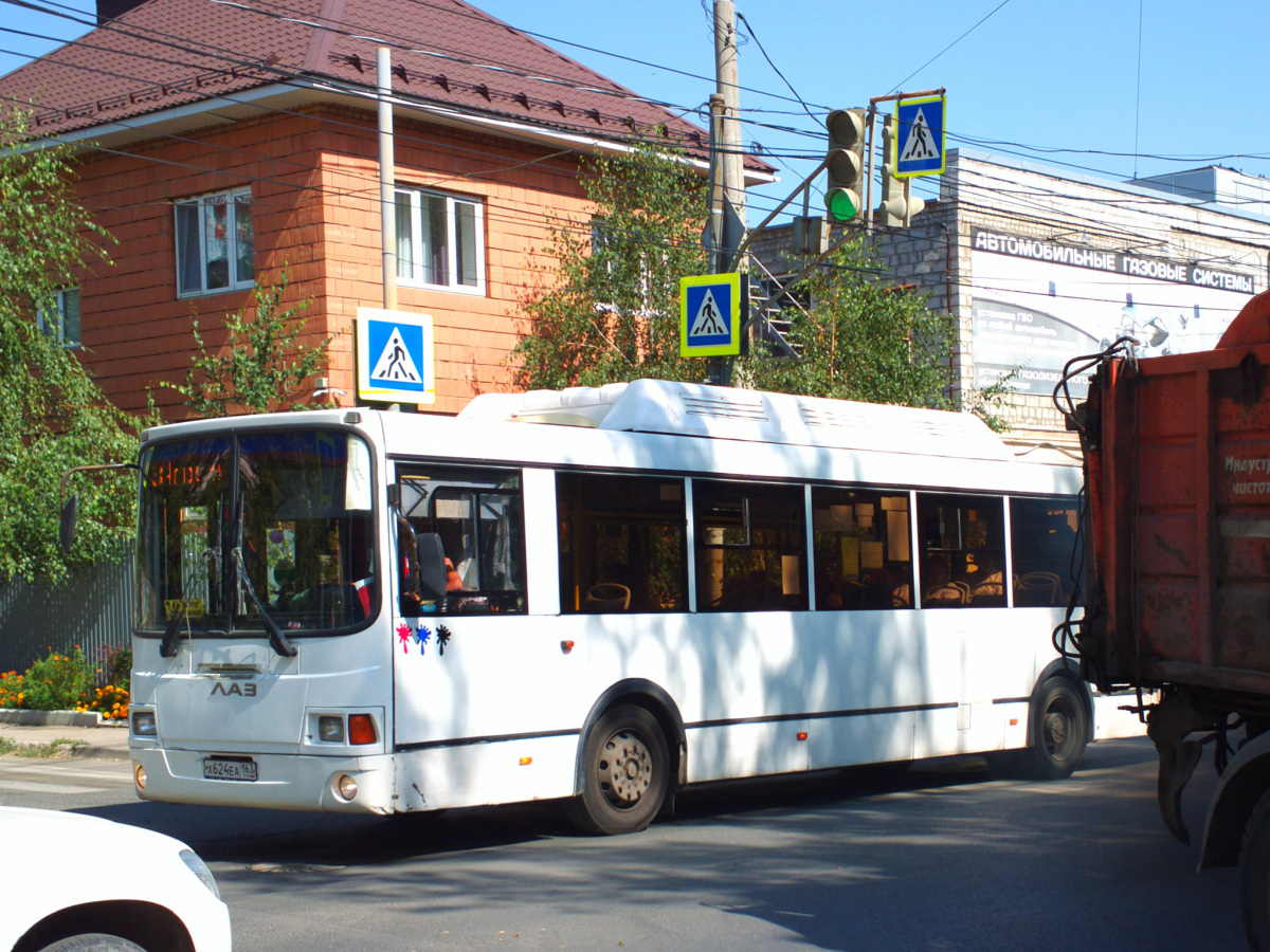 Самара. ЛиАЗ-5293.70 х624еа