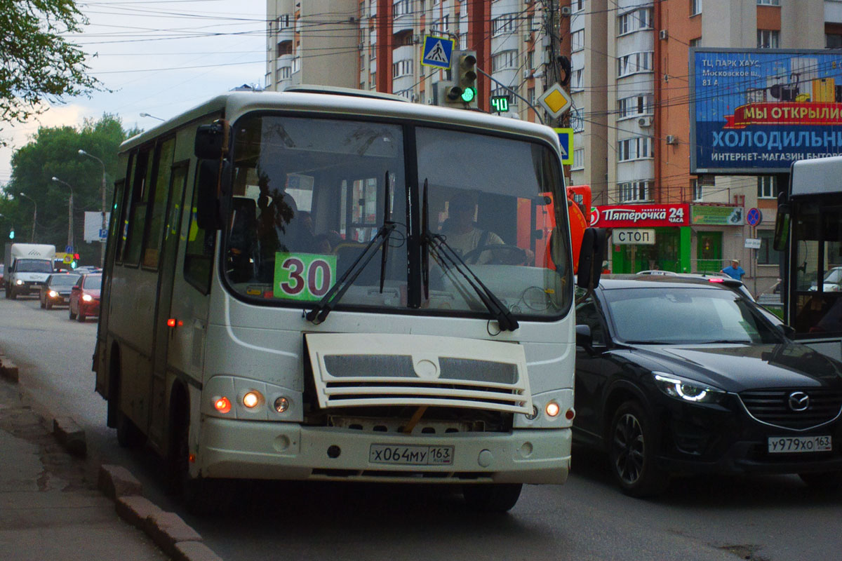 Самара. ПАЗ-320302-08 х064му