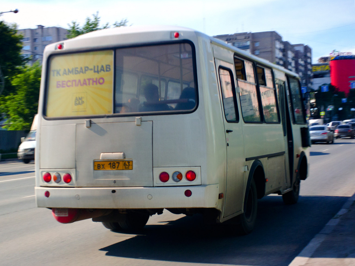 Самара. ПАЗ-32053 вх187