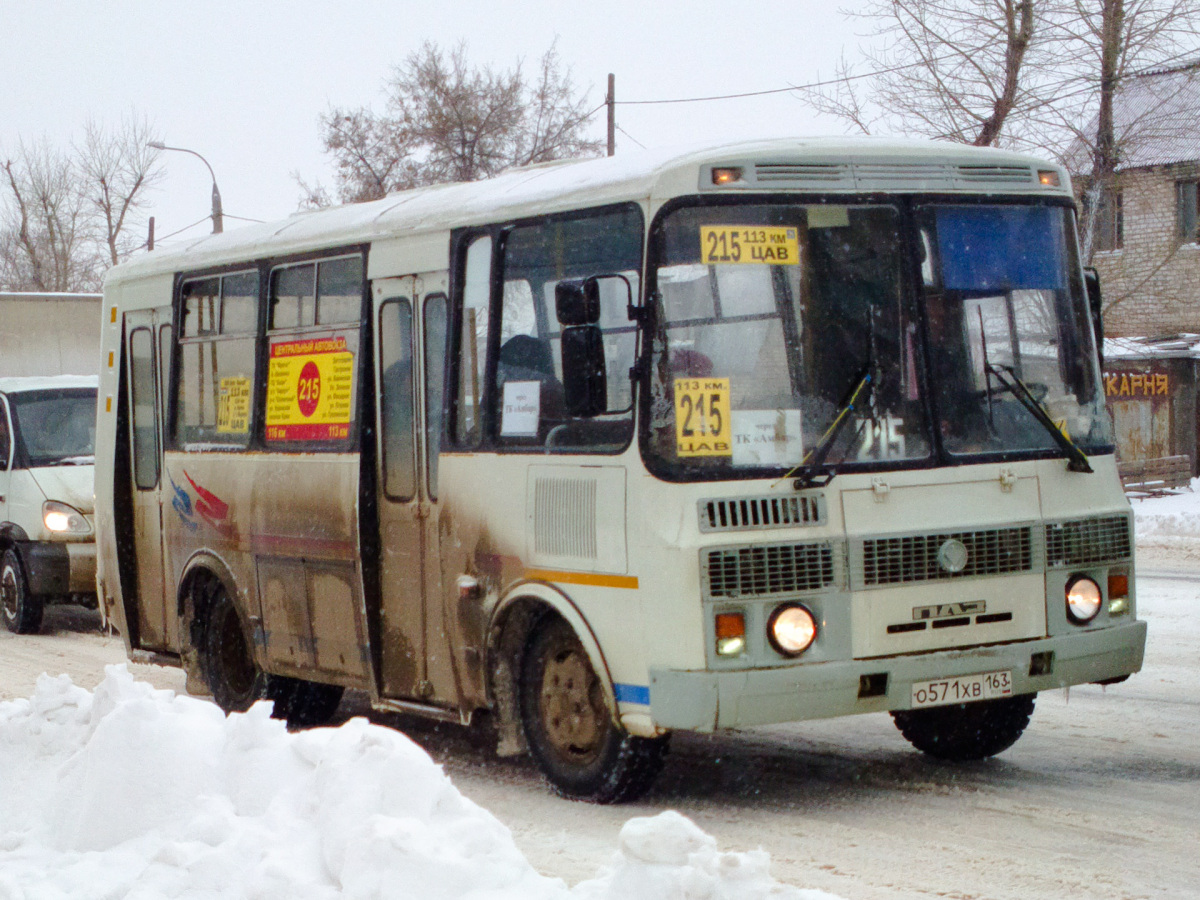 Самара. ПАЗ-32054 о571хв