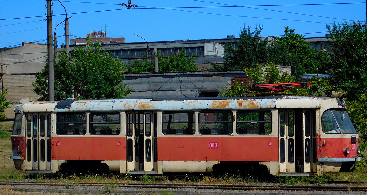 Кривой Рог. Tatra T3R.P №003