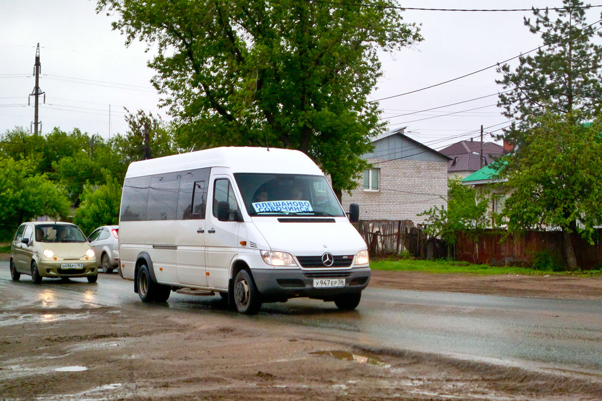Самара. Луидор-223212 (Mercedes-Benz Sprinter) у947ер