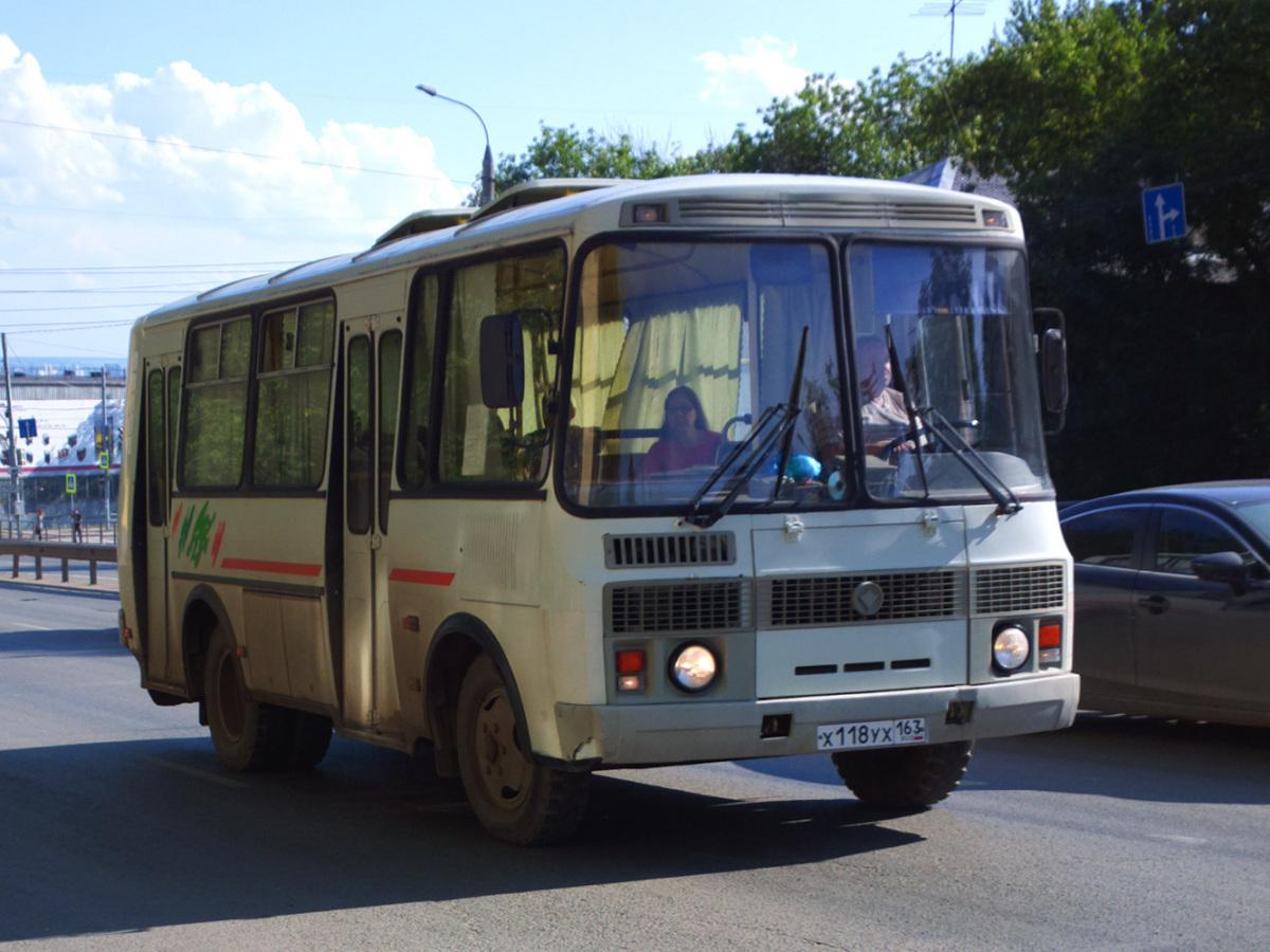 Самара. ПАЗ-32054 х118ух