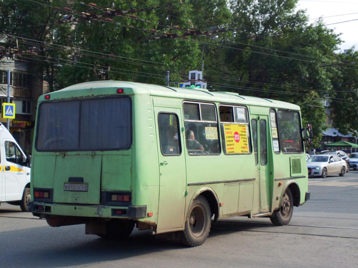 Самара. ПАЗ-32053 в895тх