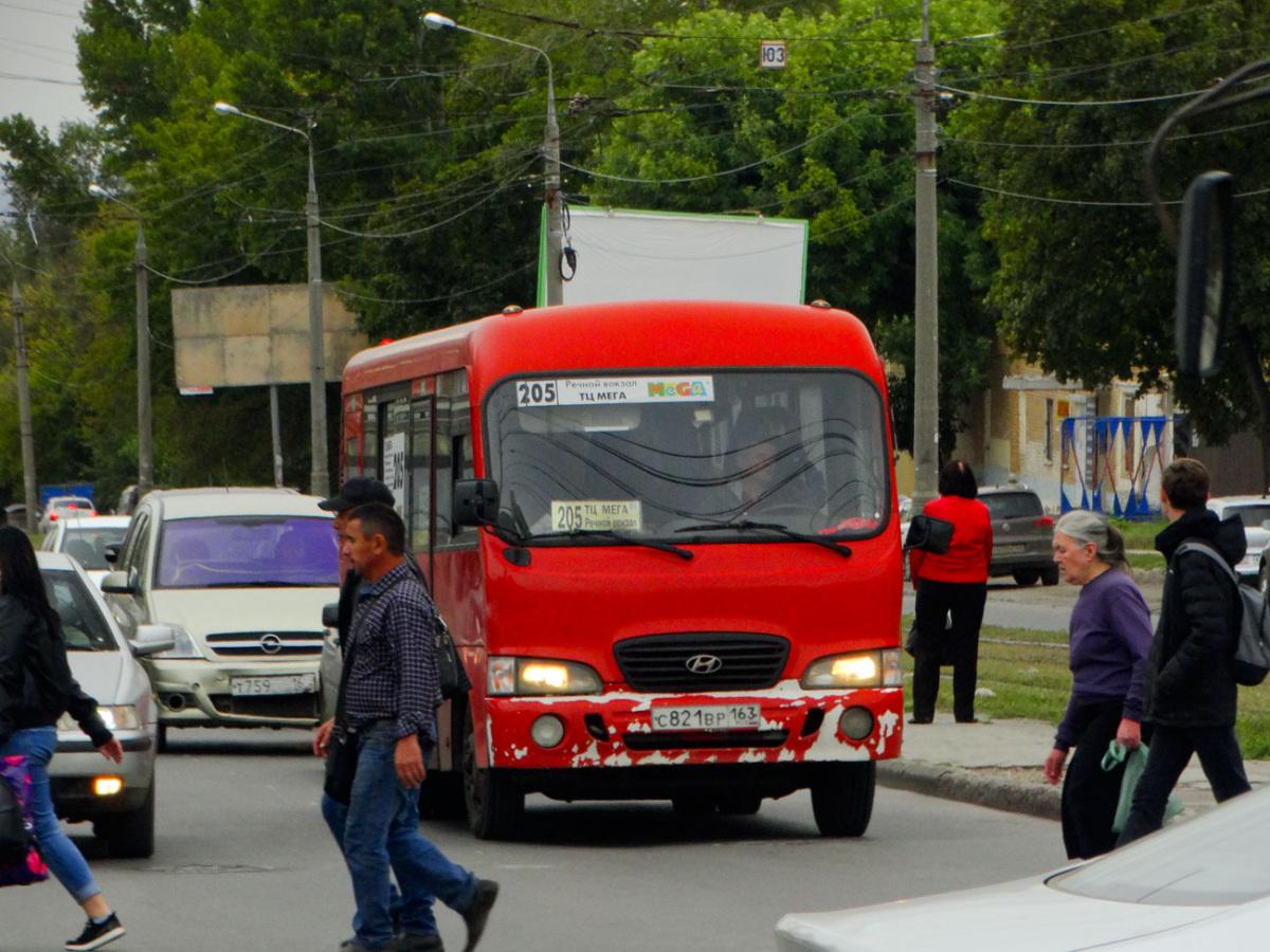 Самара. Hyundai County SWB с821вр