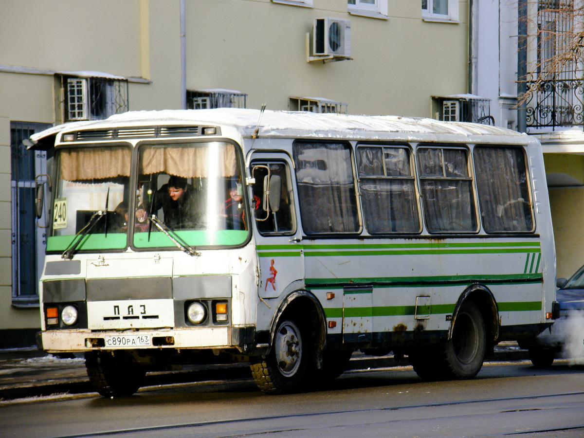 Самара. ПАЗ-32054 с890ра