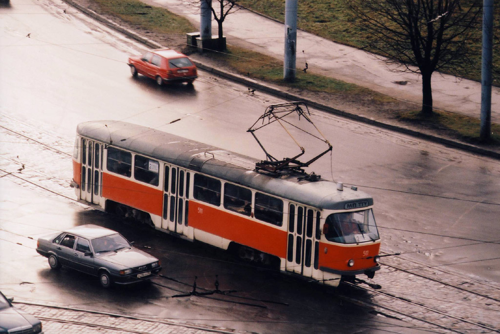 Калининград. Tatra T4D №511