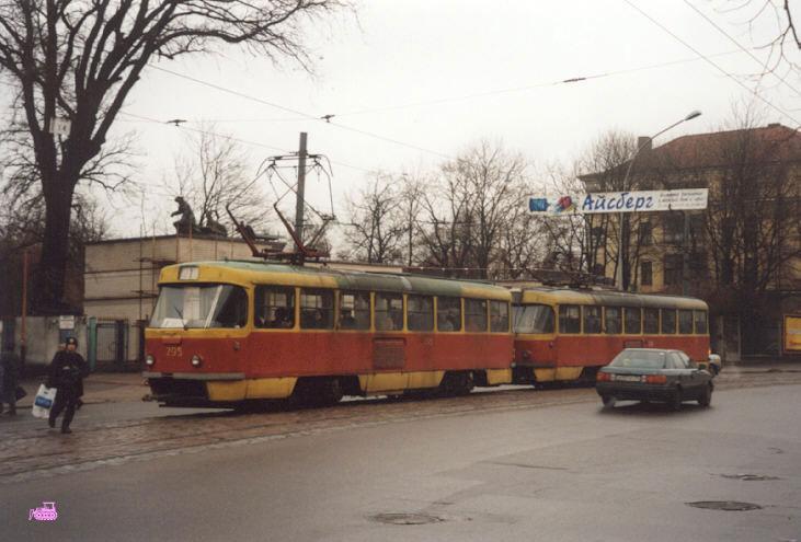 Калининград. Tatra T4SU №206, Tatra T4SU №295