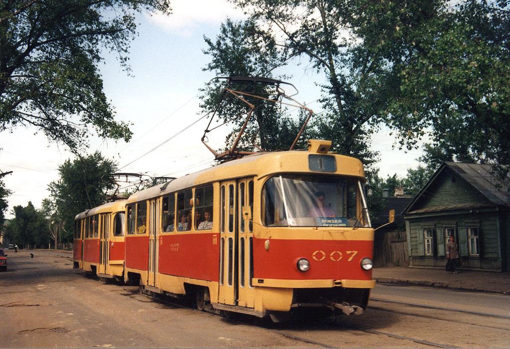 Орёл. Tatra T3SU №007, Tatra T3SU №008