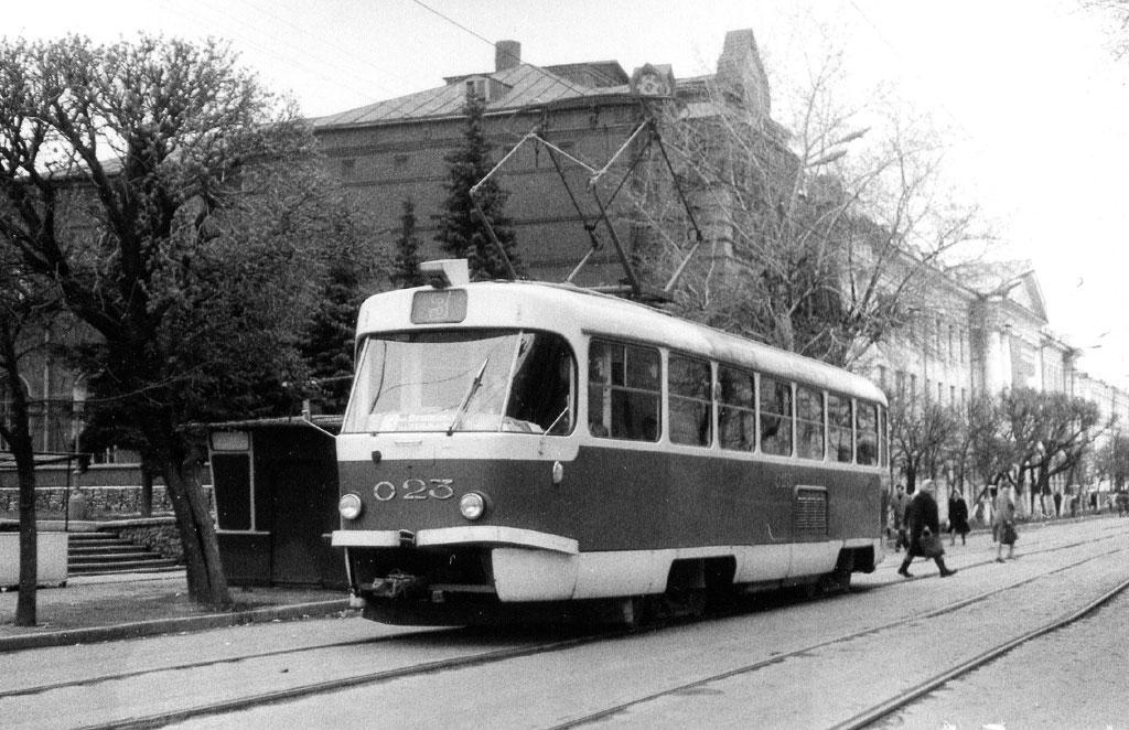 Орёл. Tatra T3SU №023