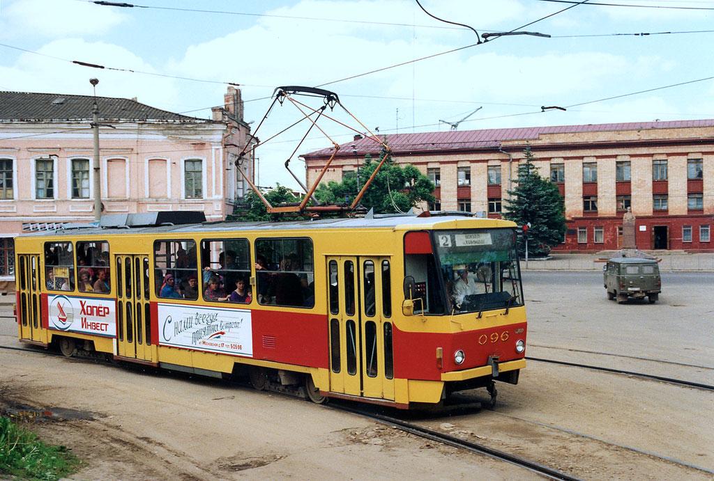 Орёл. Tatra T6B5 (Tatra T3M) №096