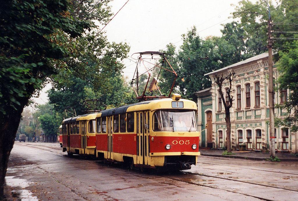 Орёл. Tatra T3SU №005, Tatra T3SU №006