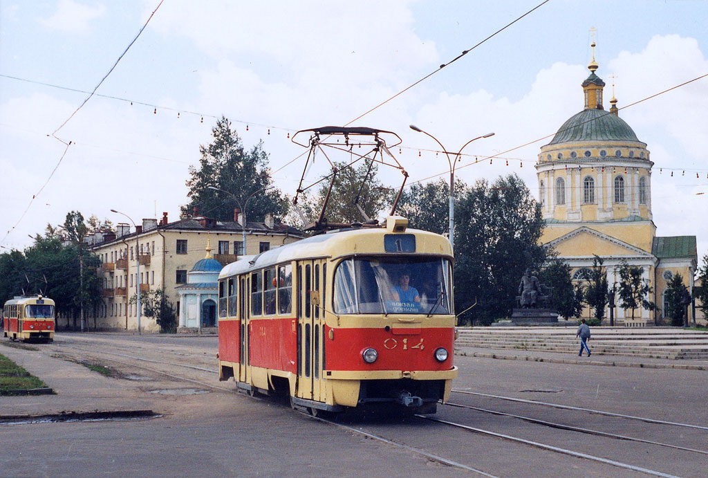 Орёл. Tatra T3SU №014, Tatra T3SU №076