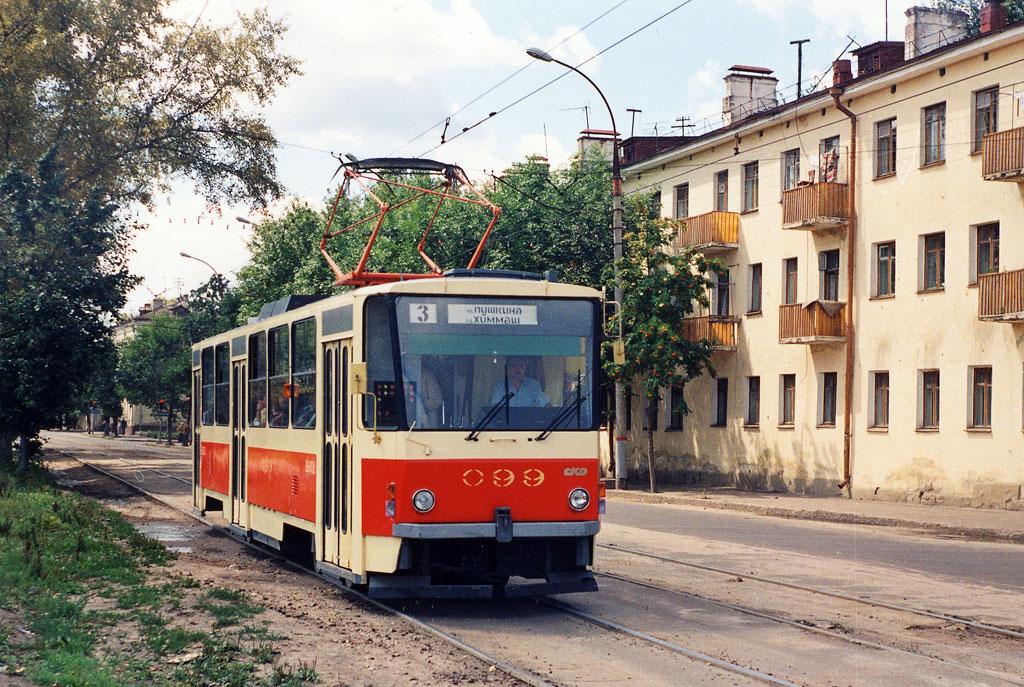Орёл. Tatra T6B5 (Tatra T3M) №099