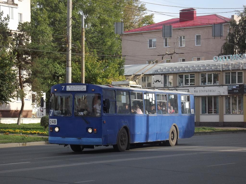 Омск. ЗиУ-682Г00 №248
