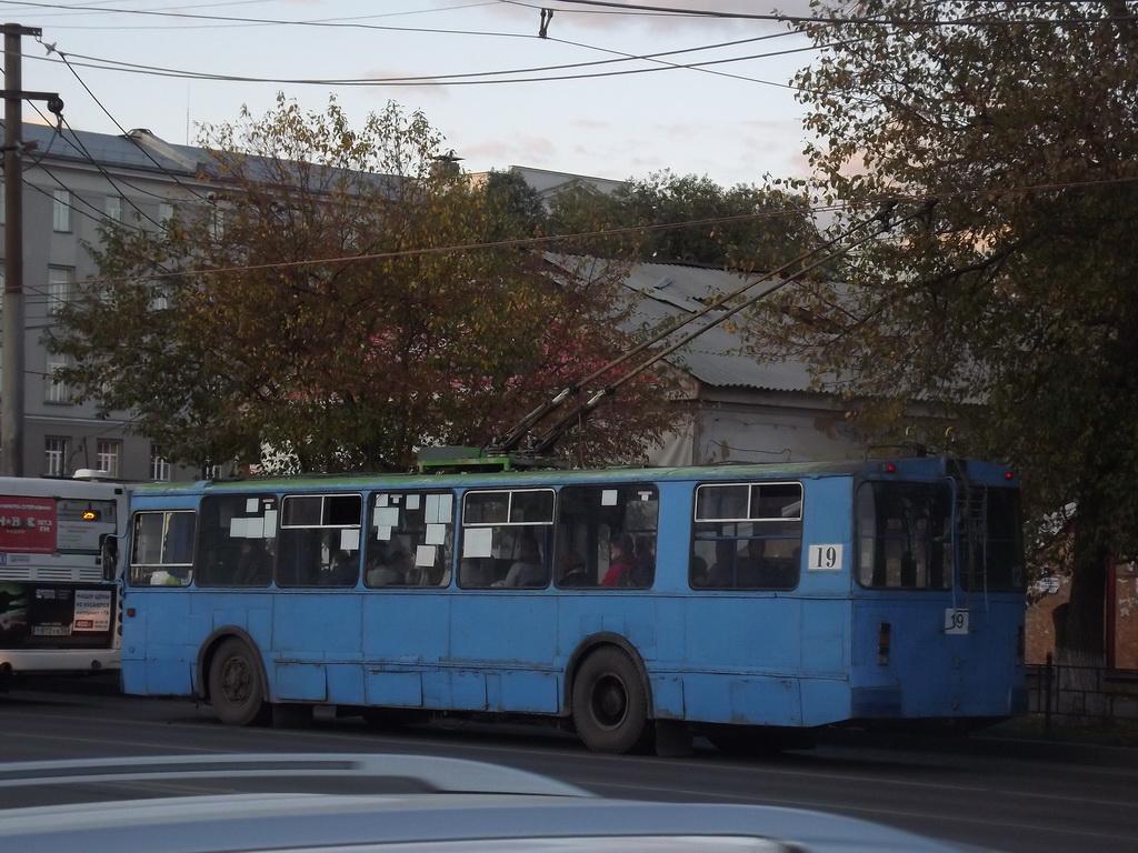 Омск. ЗиУ-682Г-012 (ЗиУ-682Г0А) №19