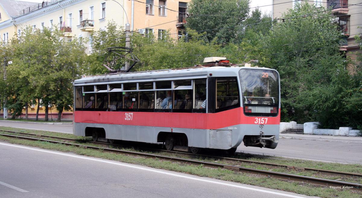 Магнитогорск. 71-619КТ (КТМ-19КТ) №3157