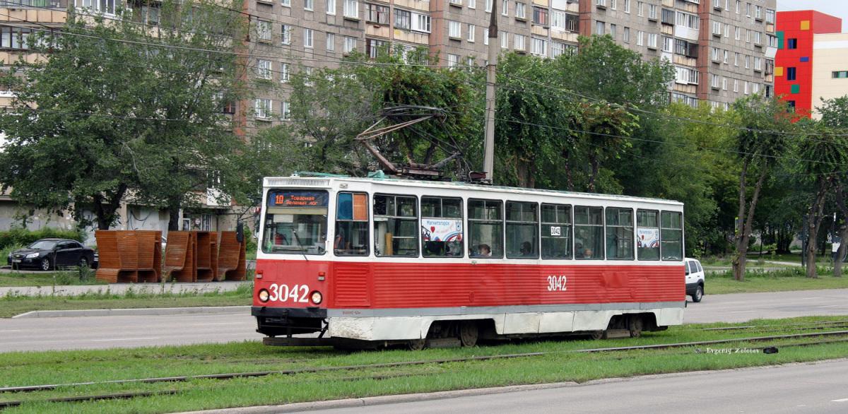 Магнитогорск. 71-605А (КТМ-5А) №3042