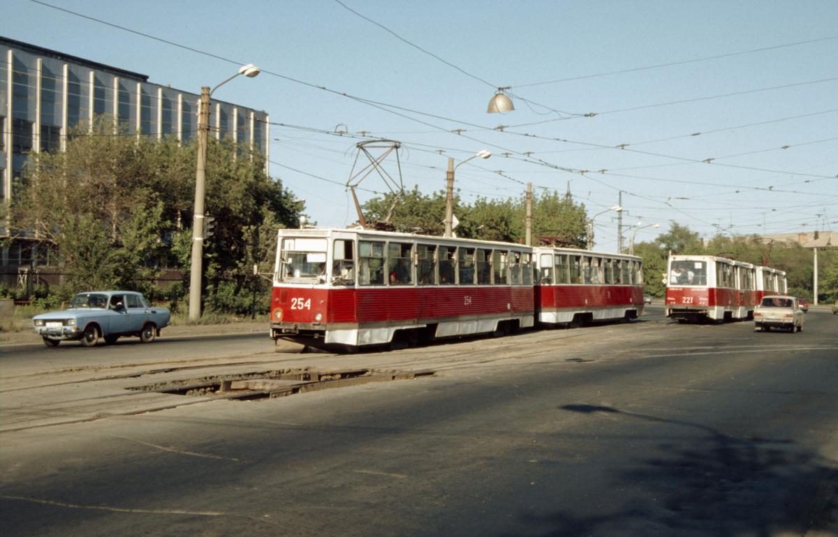 Орск. 71-605 (КТМ-5) №221, 71-605 (КТМ-5) №254, 71-605 (КТМ-5) №76