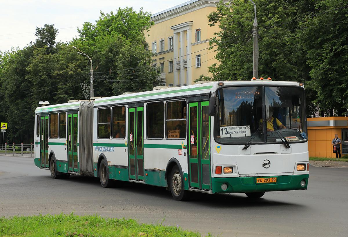 Подольск (Россия). ЛиАЗ-6212.01 ек203