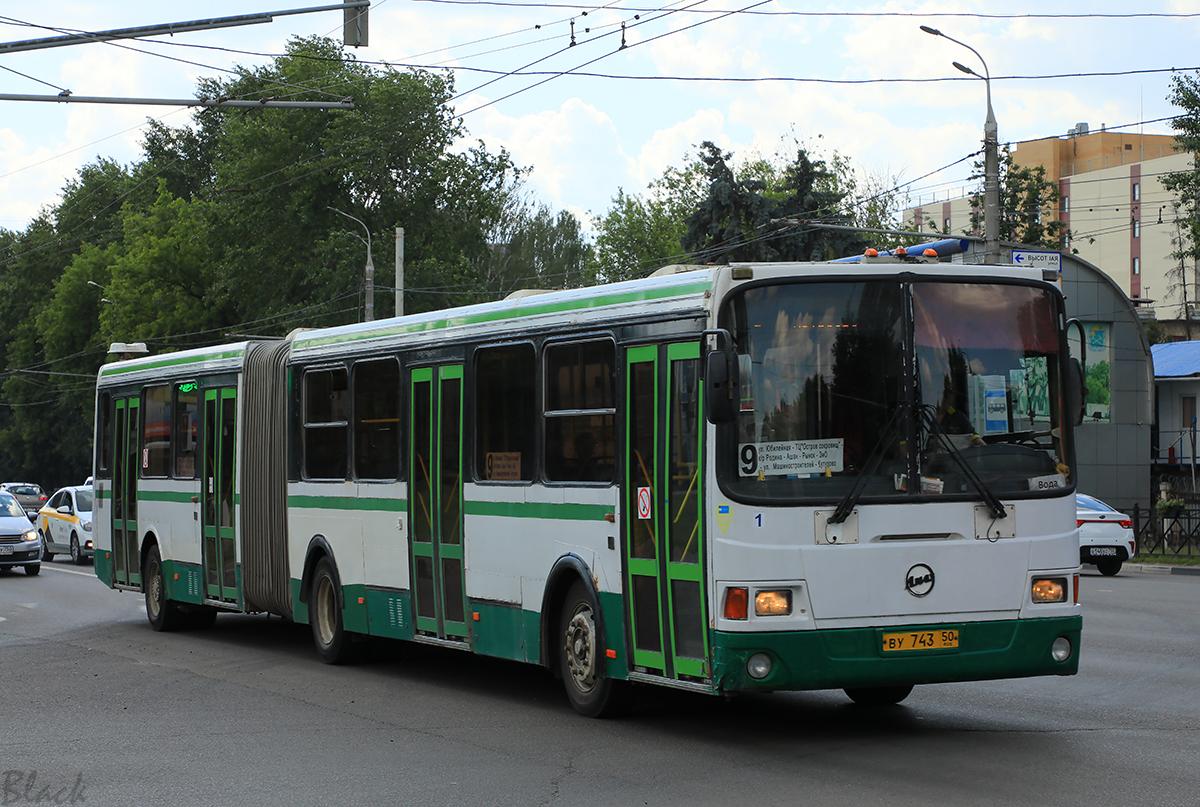 Подольск (Россия). ЛиАЗ-6212.01 ву743