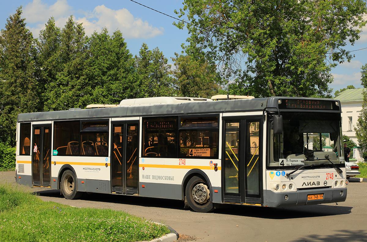Подольск (Россия). ЛиАЗ-5292.60 ах748