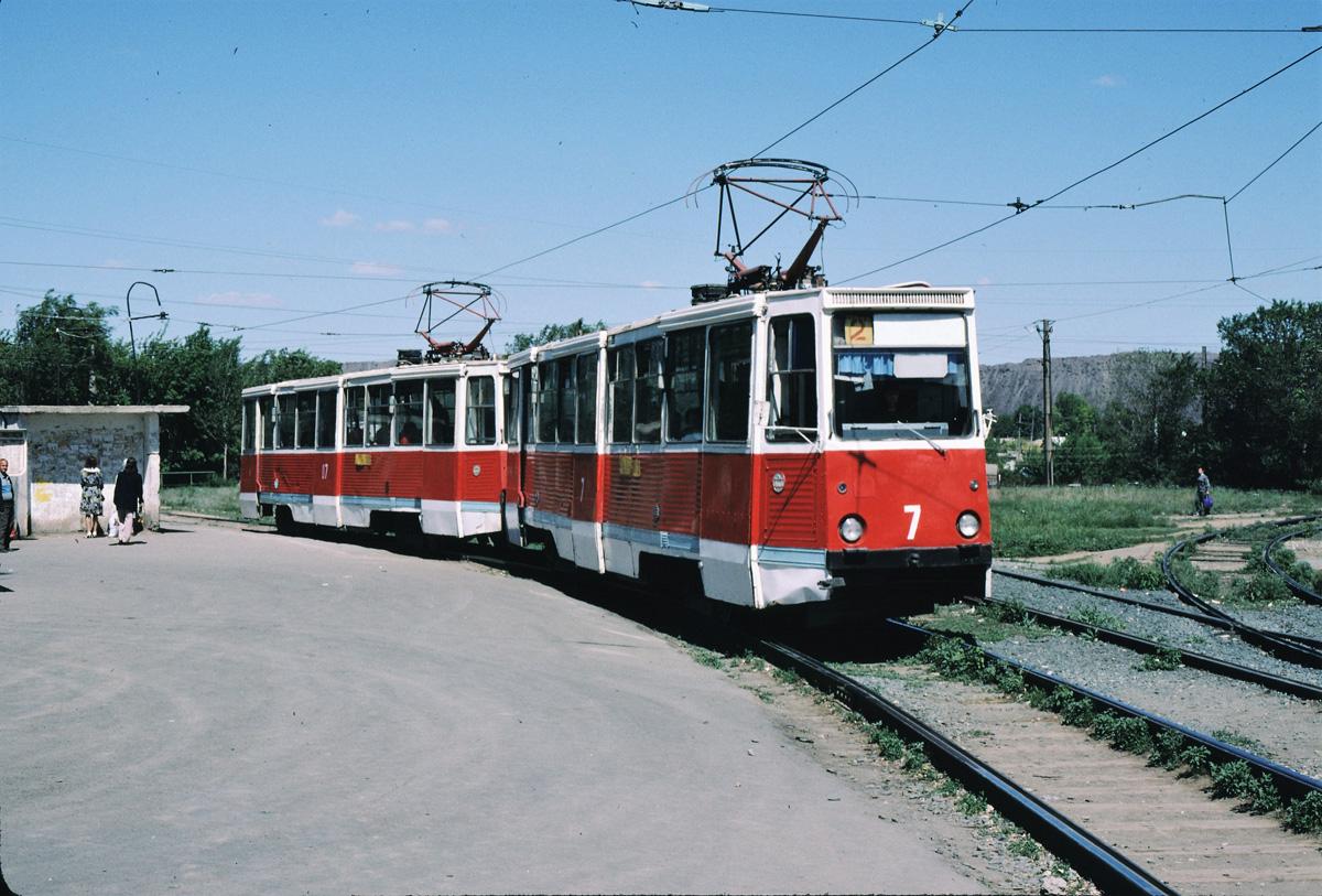 Новотроицк. 71-605 (КТМ-5) №7, 71-605 (КТМ-5) №07