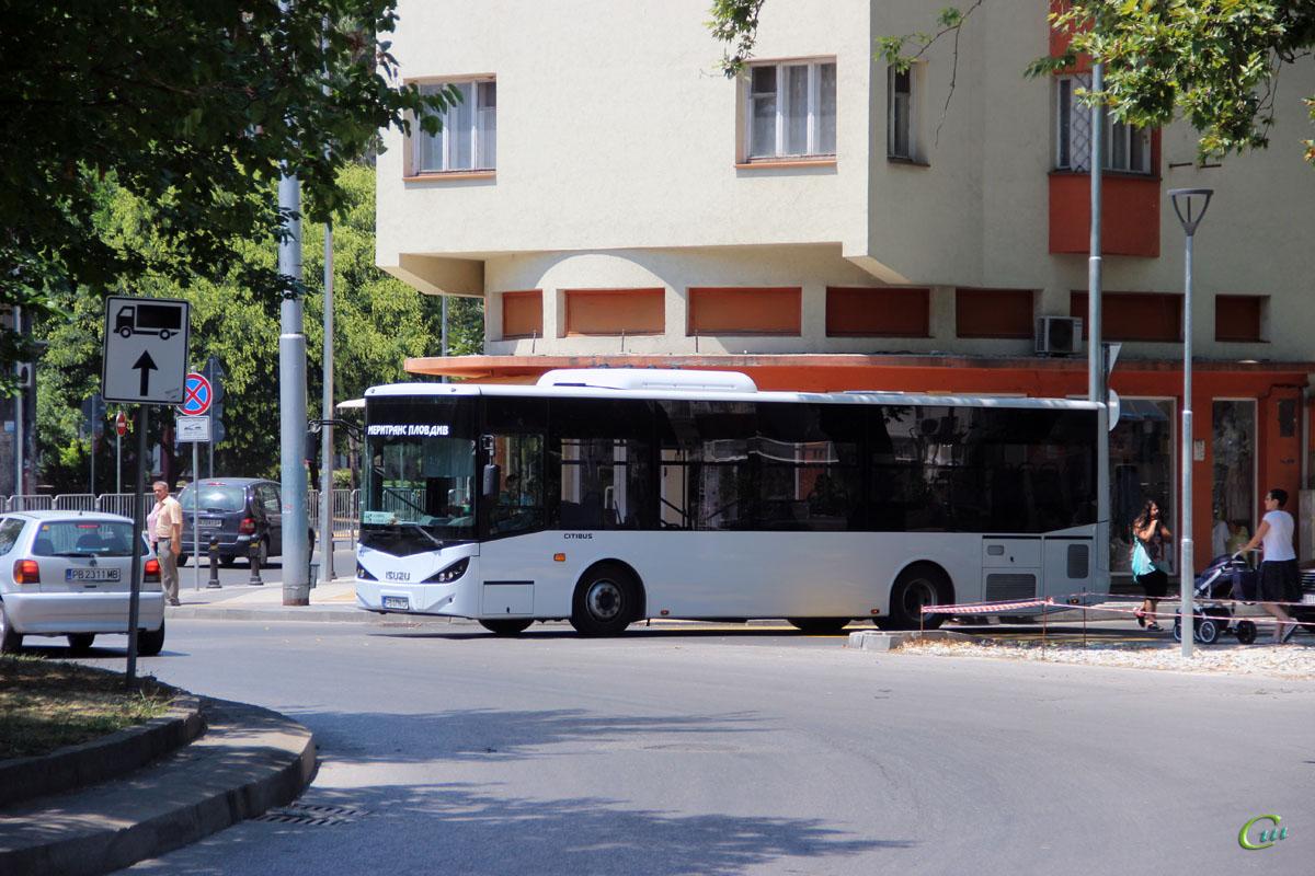 Пловдив. Isuzu Citibus PB 0796 CP