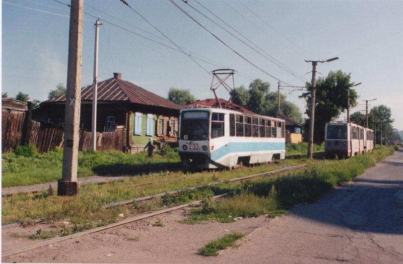 Бийск. 71-608КМ (КТМ-8М) №233