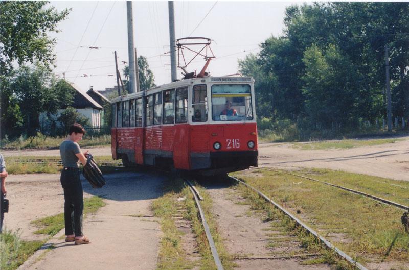 Бийск. 71-605А (КТМ-5А) №216