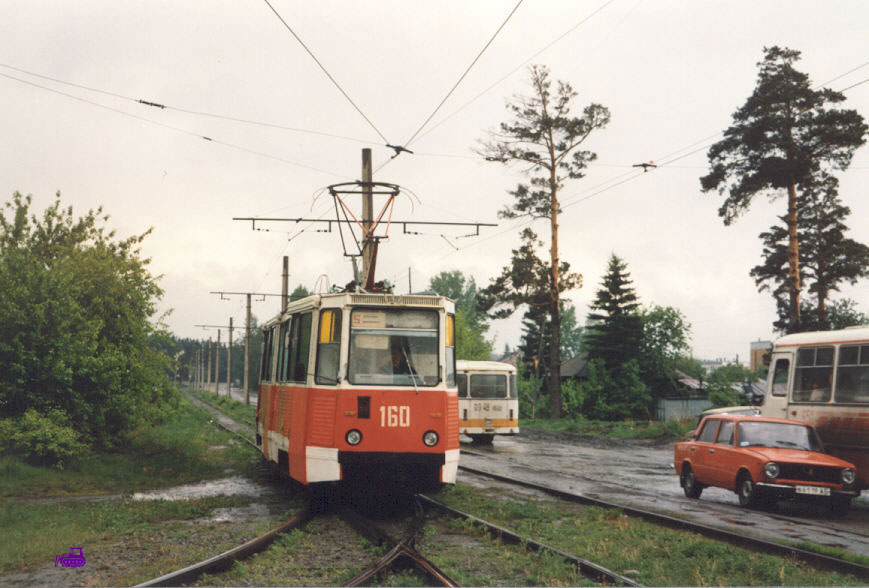 Бийск. 71-605 (КТМ-5) №160
