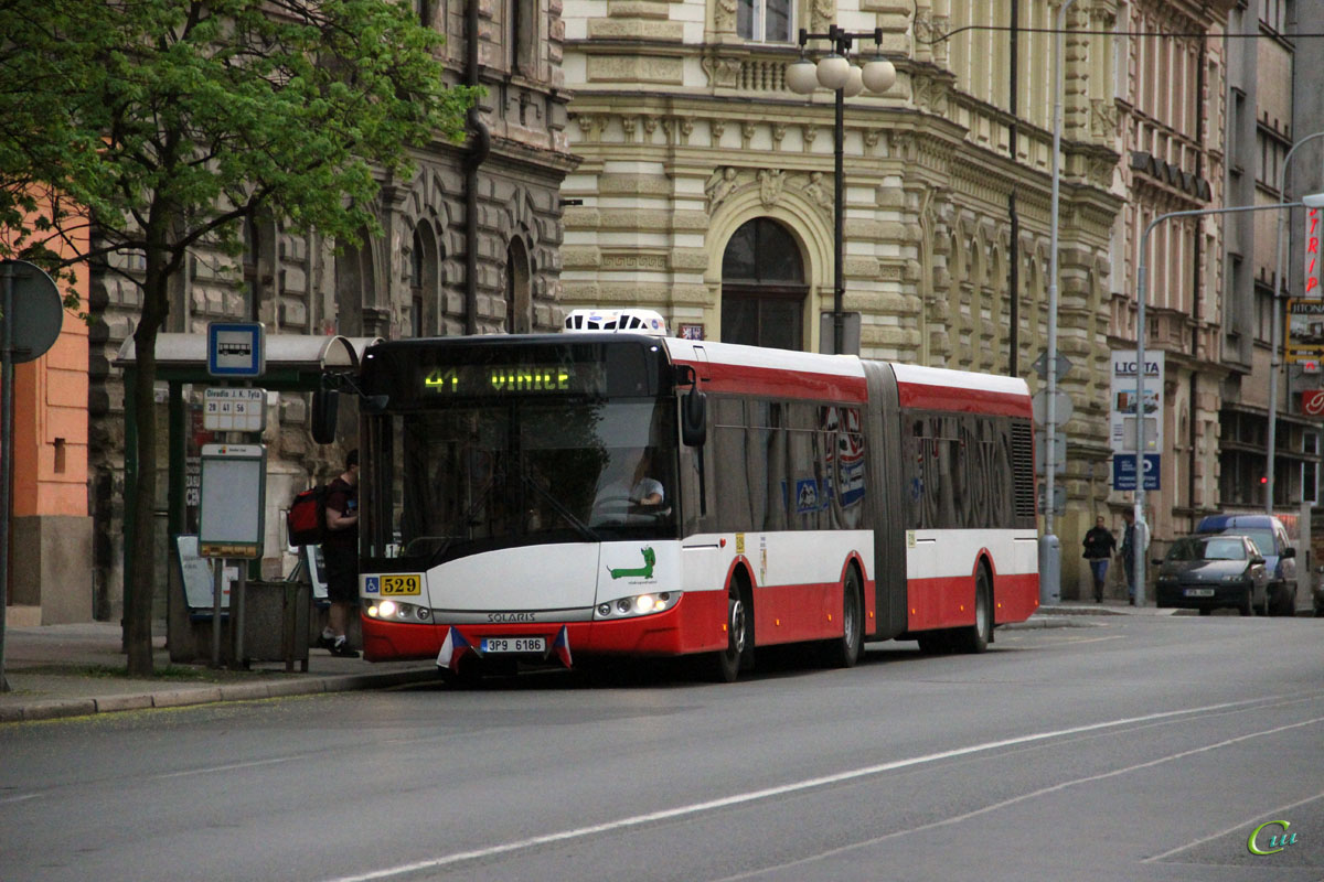 Пльзень. Solaris Urbino 18 3P9 6186