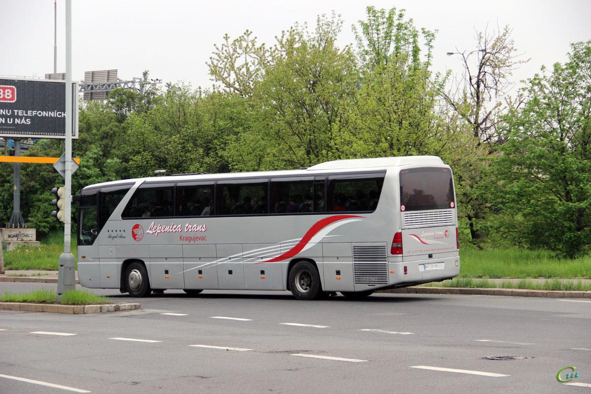 Прага. Mercedes-Benz O350 Tourismo KG 039-BG