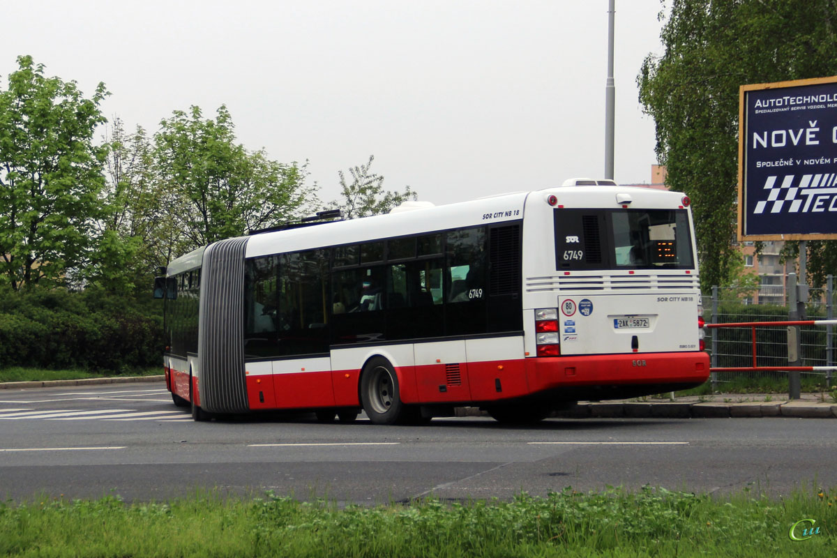 Прага. SOR NB 18 2AK 5872